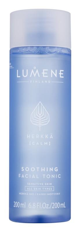 Lumene Cleansing Herkkä [Calm] Soothing Toner for All Types of Skin Including Sensitive Skin